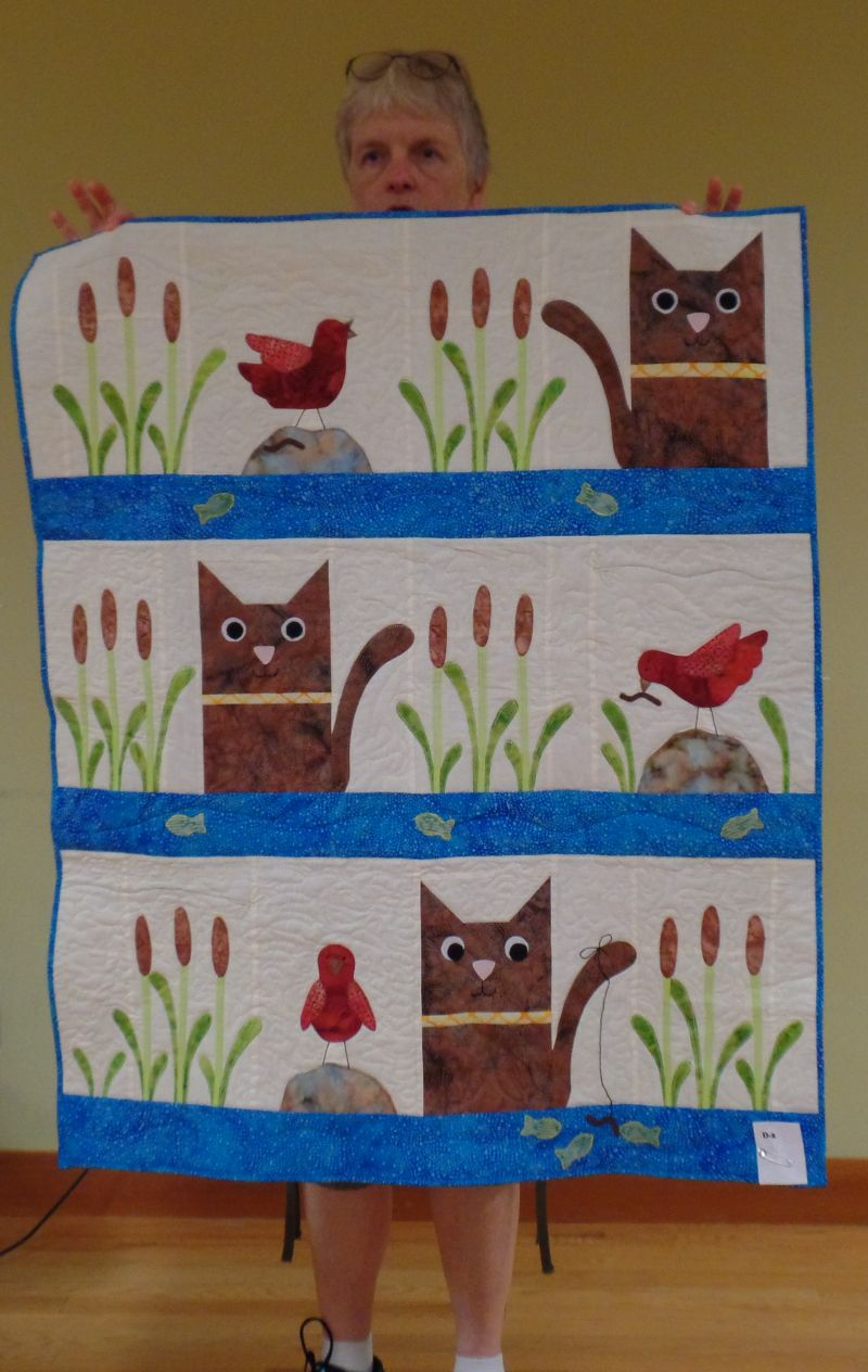 """Sarah S - Story Quilt """"Friendly Cooperation"""""""
