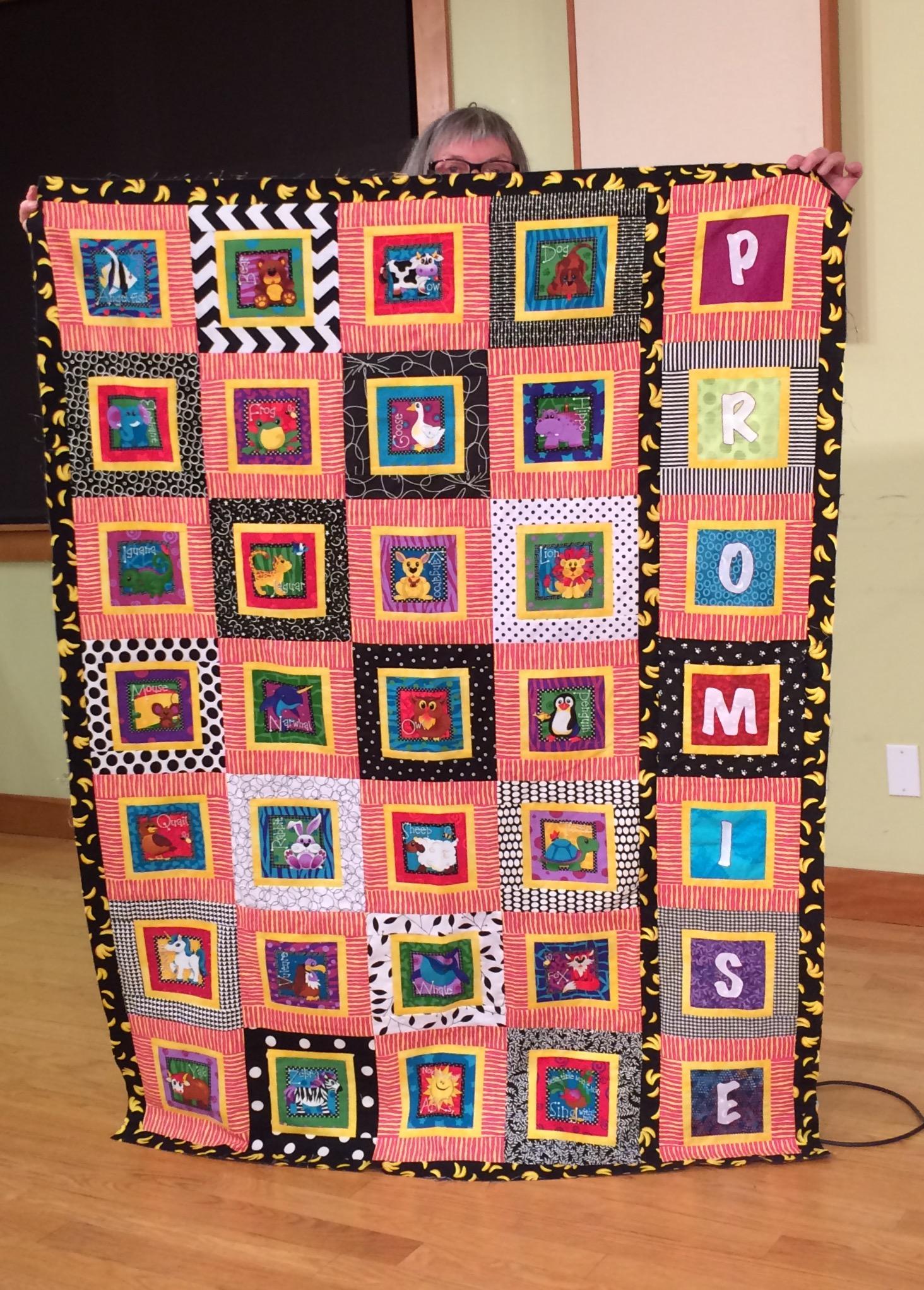Rommie M - Fun Grandchild quilt