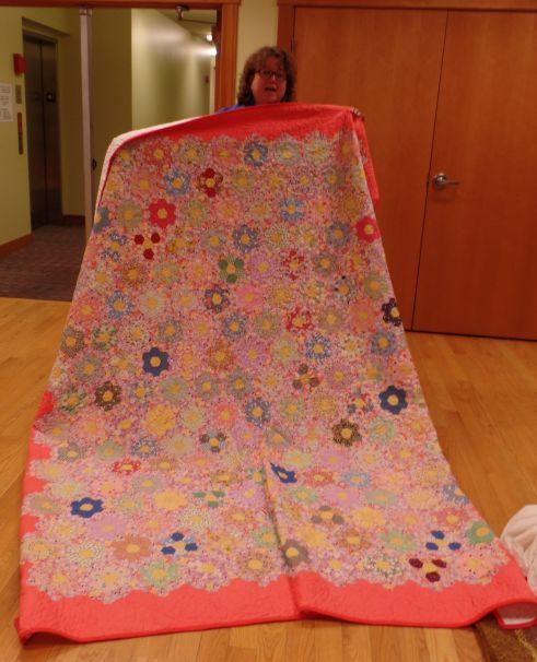 Judy J. Antique quilt made new!