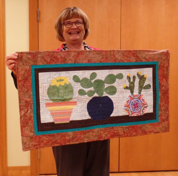 Cathy F. Quilted memories from a trip to the SW