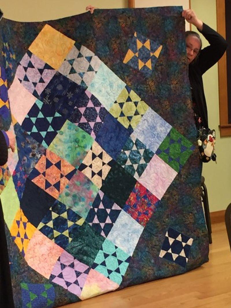 Donna C. shares a new quilt.