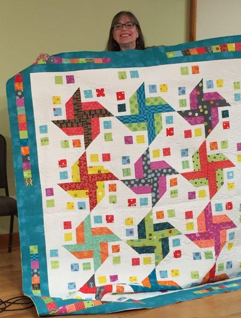 Debbie L. shares Confetti Pinwheels