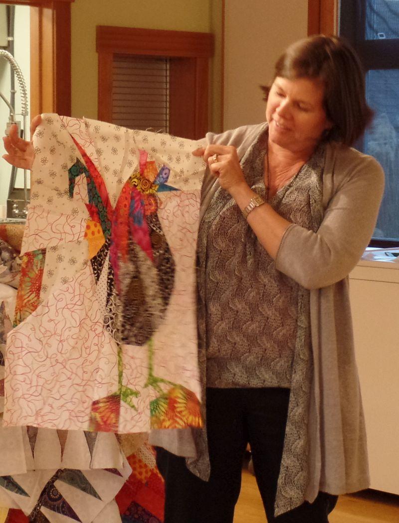Sharon M. Chicken Quilt