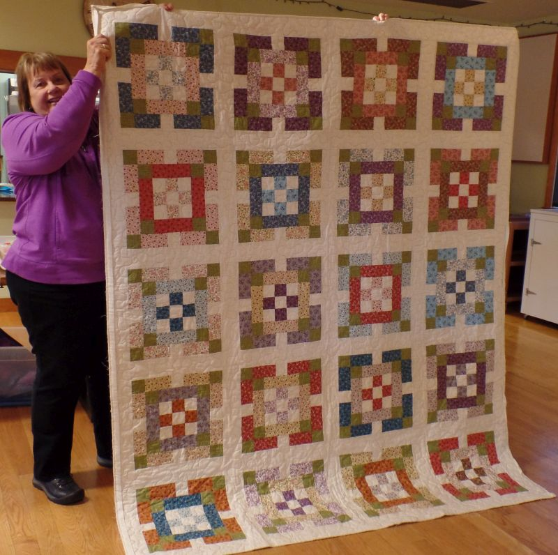 Suzanne T. - Craftsy Kit Quilt