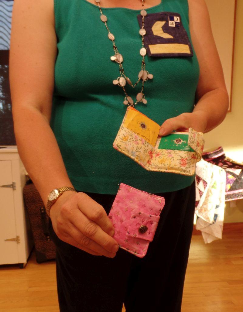 Linda P - Tea Bag Purse holder