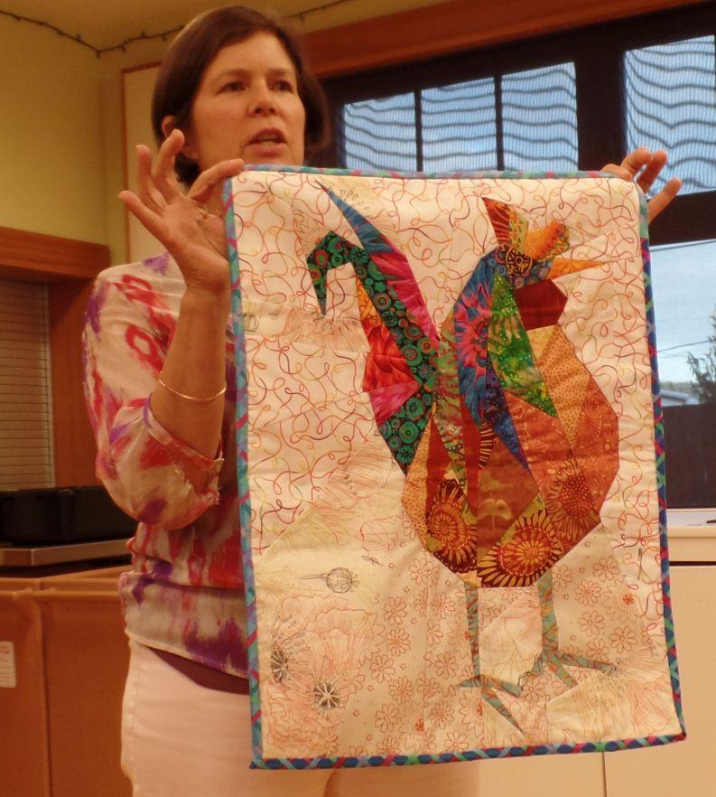 Sharon M. - Hen from Ann Shaw class