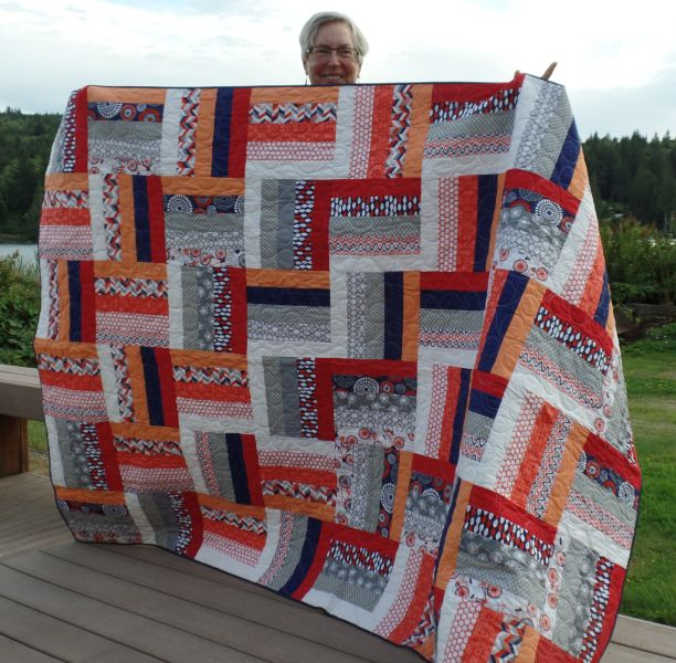 Lynn M. - Quilt for Lydia Place complete!