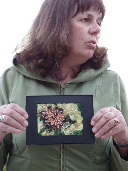 Deb J.- Floral Stitchery