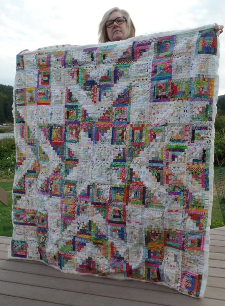 Tracey F. -Hand quilted Star Quilt
