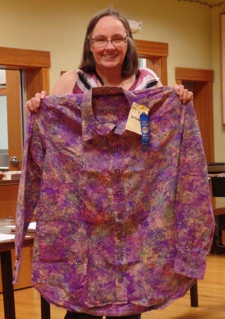Donna C. Purple Shirt for Husband
