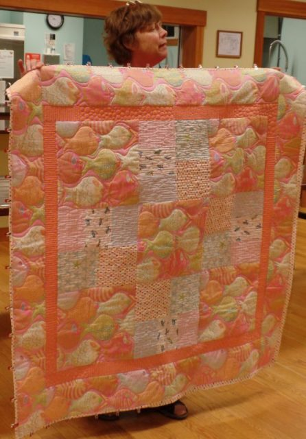 Sherry R-B - Grand baby quilt