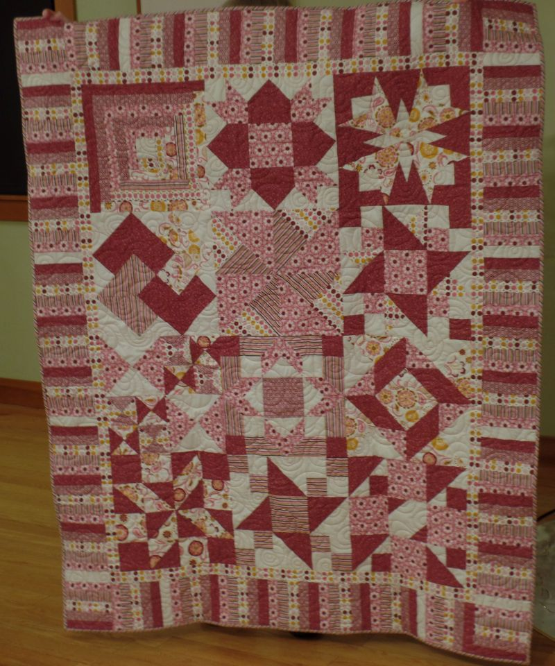 Pizza Box Quilt - Linda St.