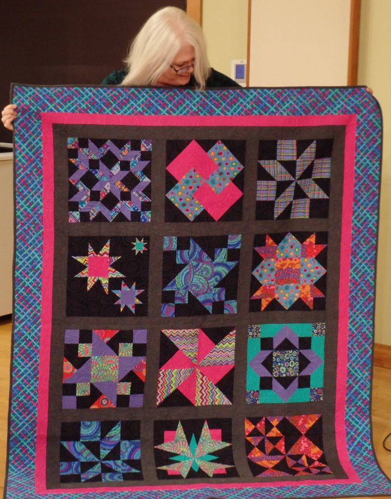Pizza Box Quilt-Trish L.