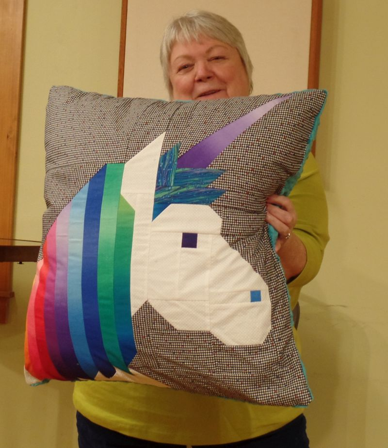 Barbara D. - Unicorn Pillow