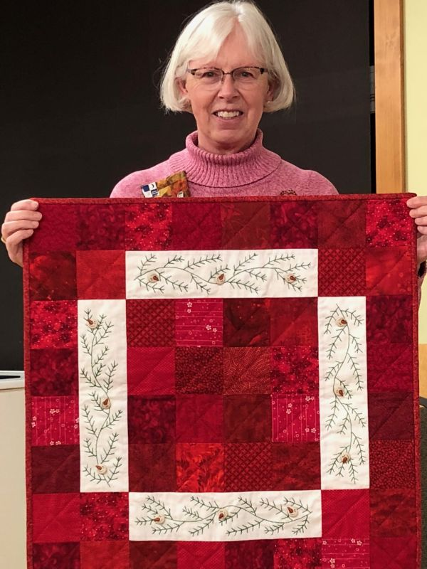 Linda F. - Embroidered Christmas Quilt